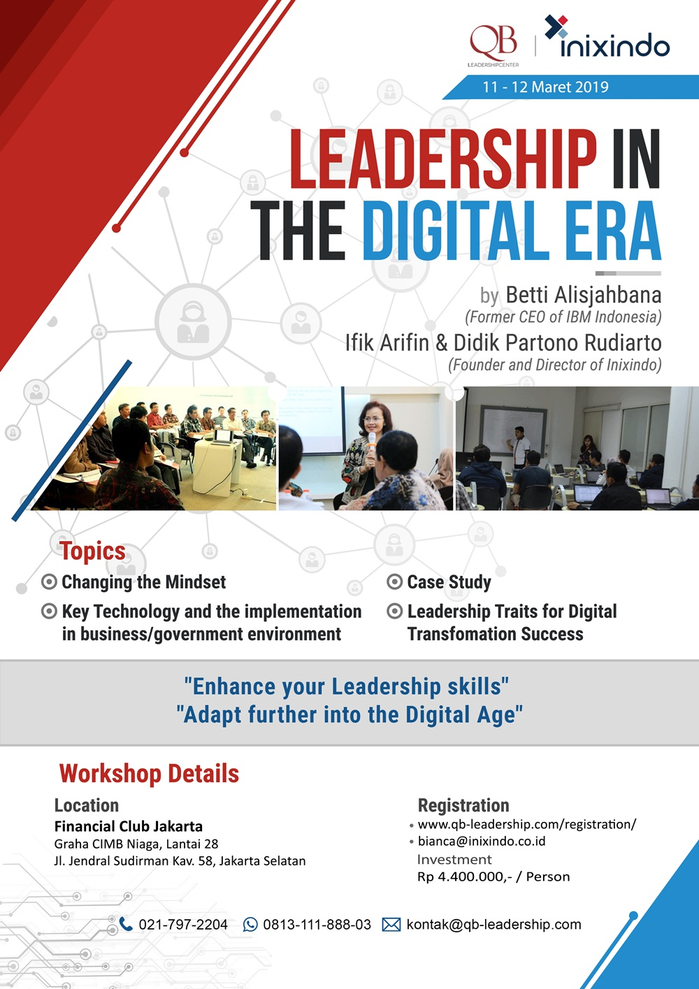 "Workshop ""LEADERSHIP IN THE DIGITAL ERA"""