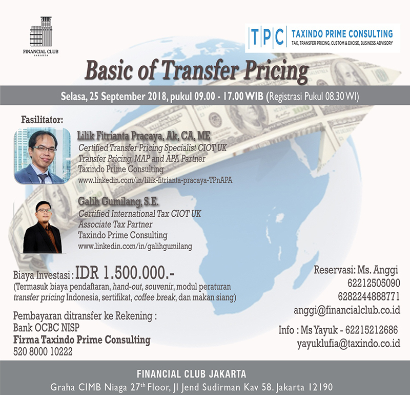 Basic of Transfer Pricing
