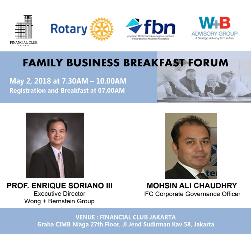 Family Business Breakfast Forum