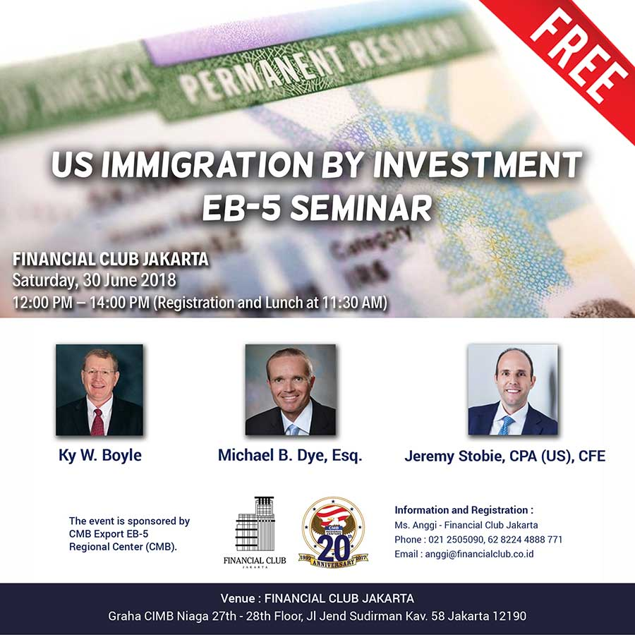 US EB-5 And Immigration By Investment