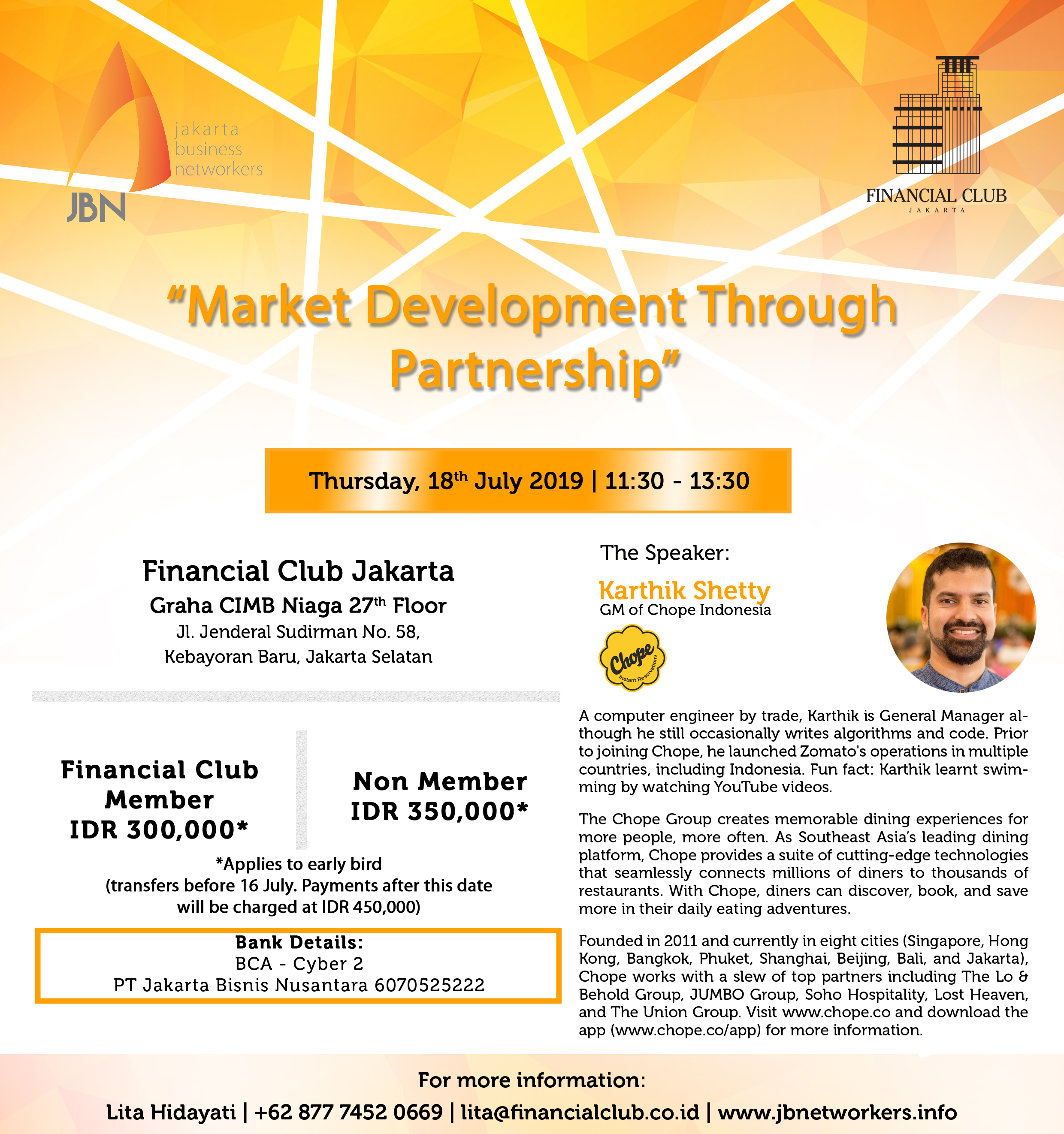 Jakarta Business Network Sessions
