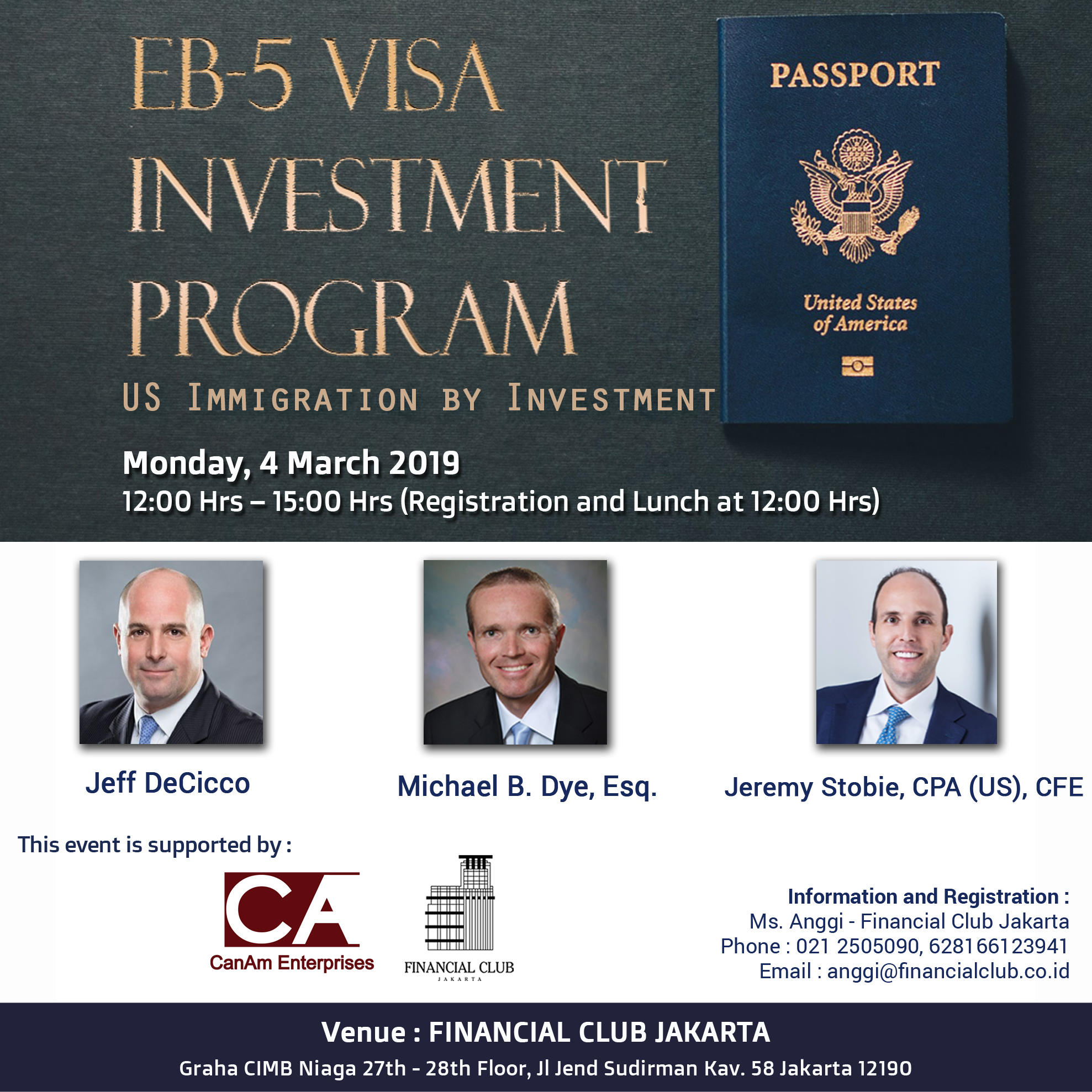 EB-5 Visa Investment Program,