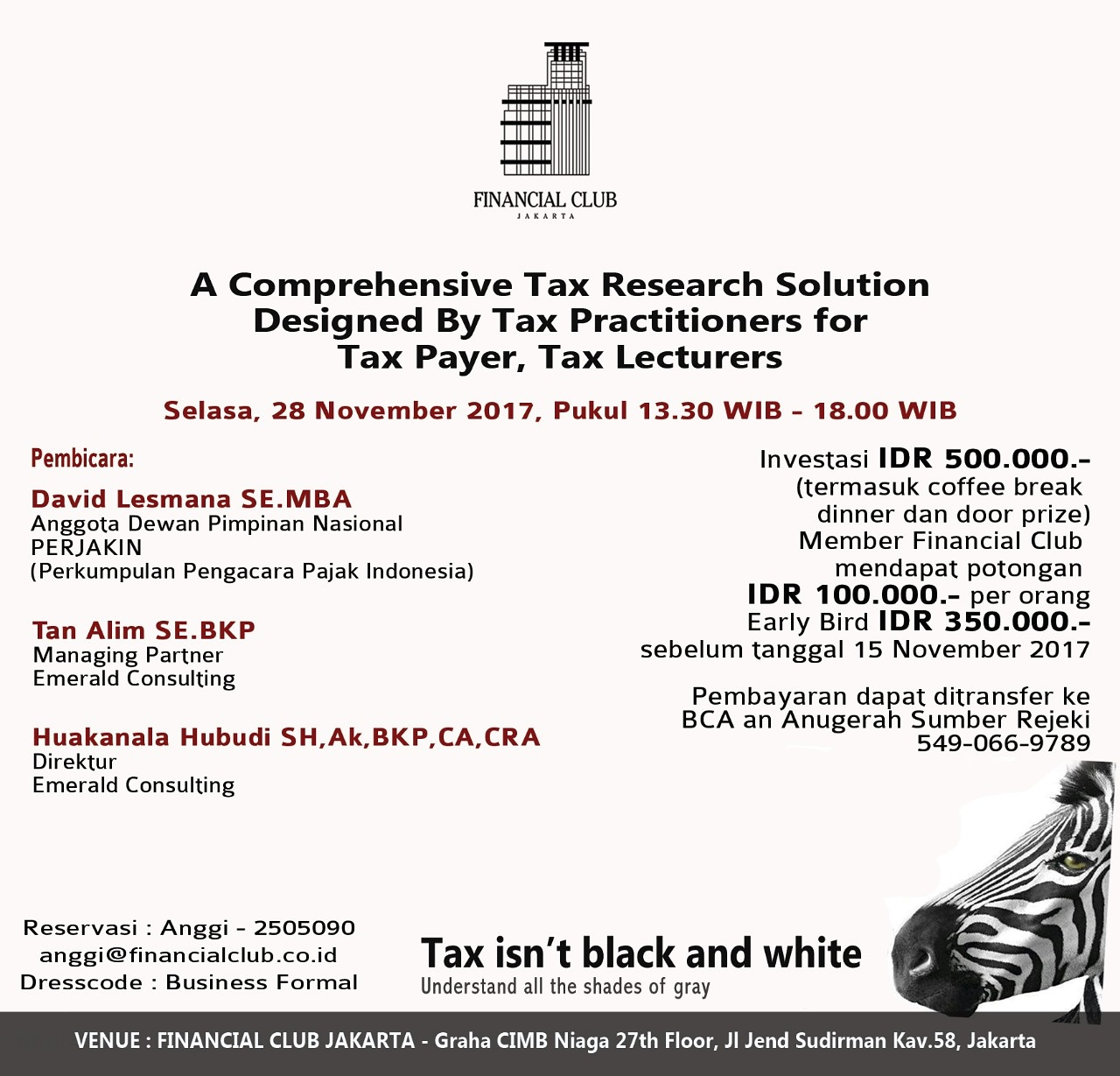 A Comprehensive Tax Research Solution Designed by Tax Practitioners for Tax Payer, Tax Lecturers