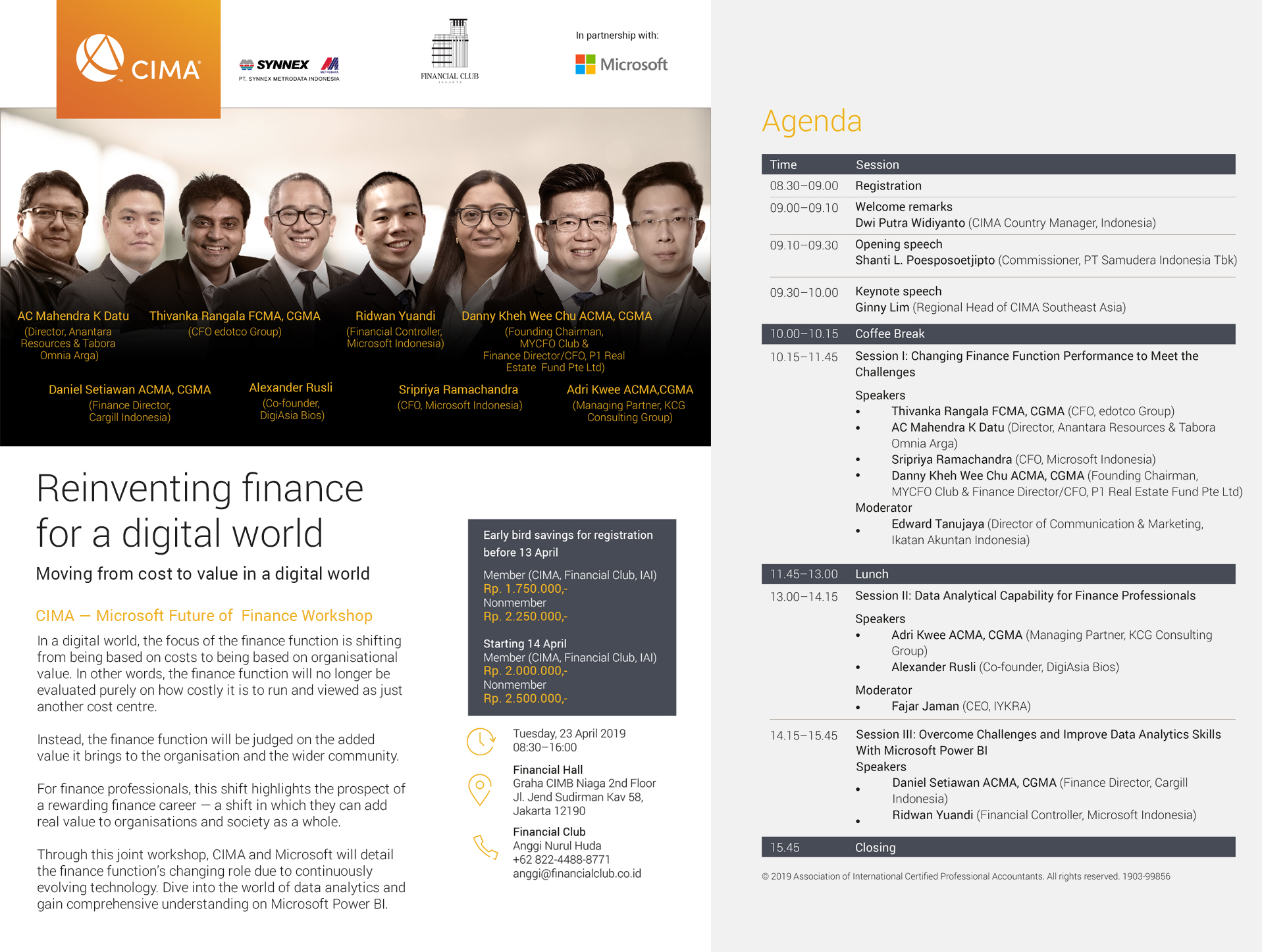 "Finance Workshop ""Reinventing Finance for a Digital World"""