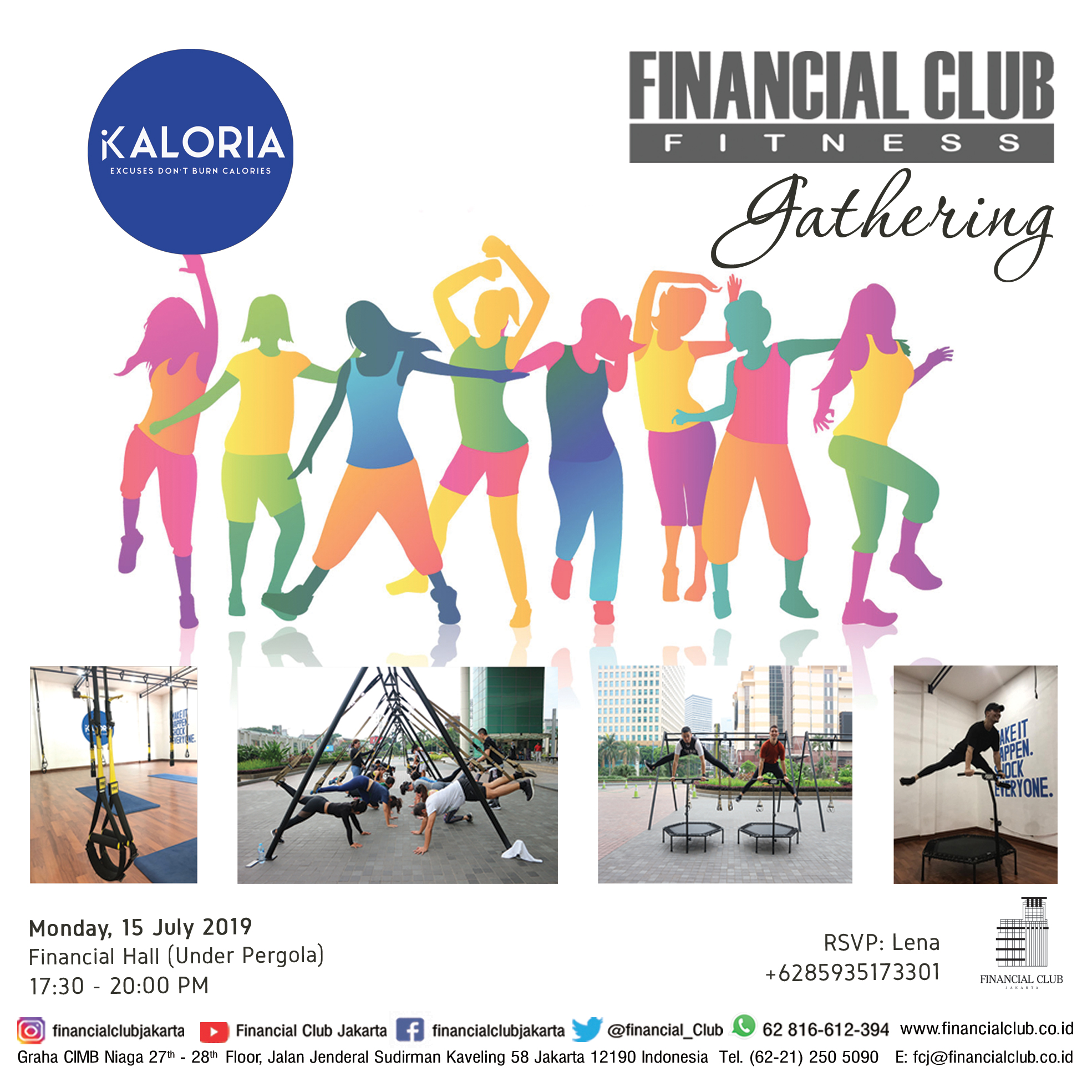 Fitness Gathering with Kaloria Studio