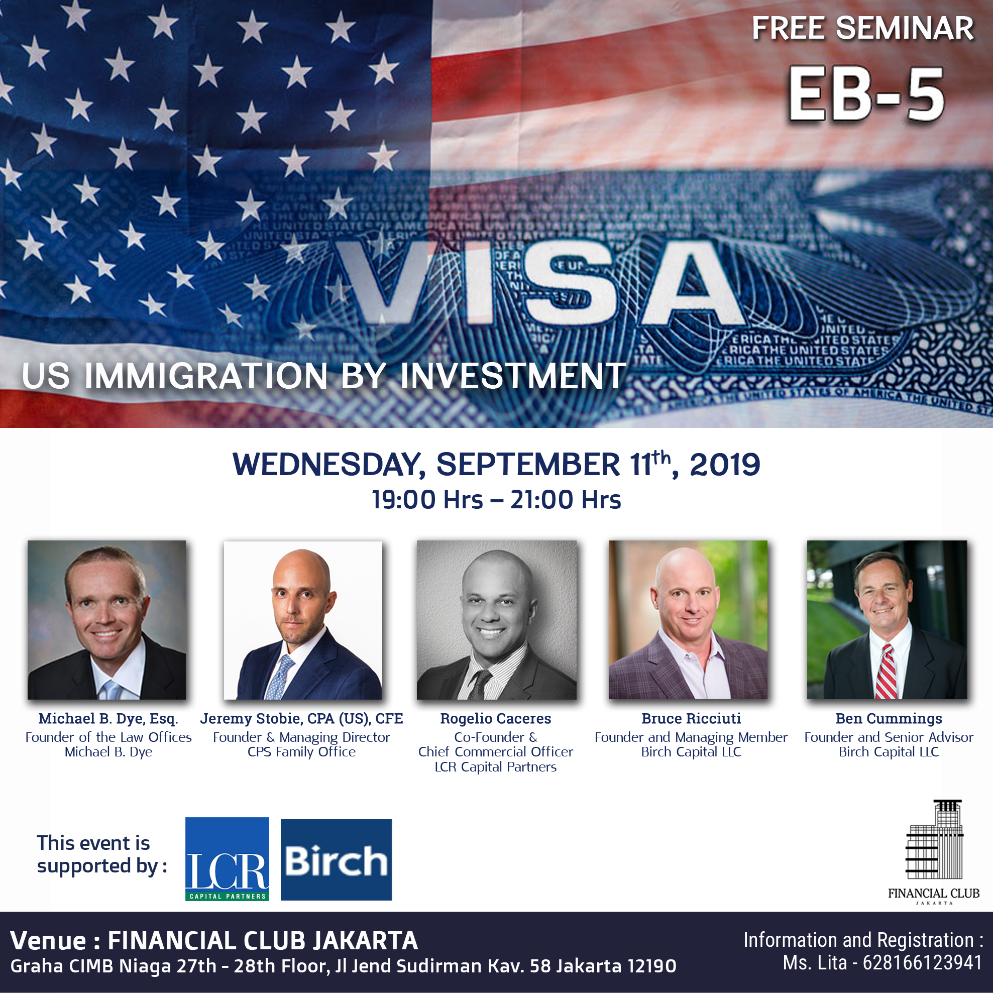 US E-2 Visa Forum Session