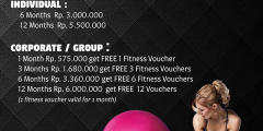 Fitness 25th Anniversary Promo